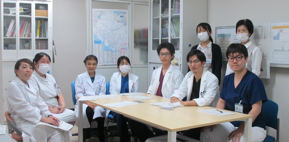 皮膚科職員の集合写真
